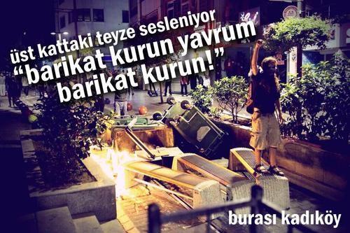 #direnkadıköy #barikat