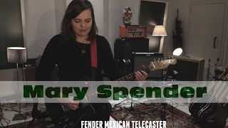 Mary Spender: One Player Ten Guitars    UK tour dates http://ift.tt/2AsObsn  POST ELECTRIC STUDIO: http://ift.tt/2nfF089 Thanks to Danny for recording this session and Miguel for all your help with the guitars! Massive thanks to Kris for having me and Rod for having such a cool guitar collection!  STUDIO TECHNIQUE: All using the same pedal (EHX Soul Food) and amp (Peavey Classic 50). The microphones we used were a blend between the Shure SM57 and the Sennheiser MD421. The 57 was positioned…