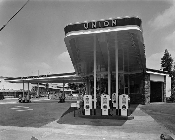 Job 490: Raymond Loewy, Union Oil Gas Station (Pasadena, Calif.), 1949