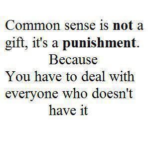 Punishment.Who says what is right wrong or common sense do we all have the ability to choose what we know?