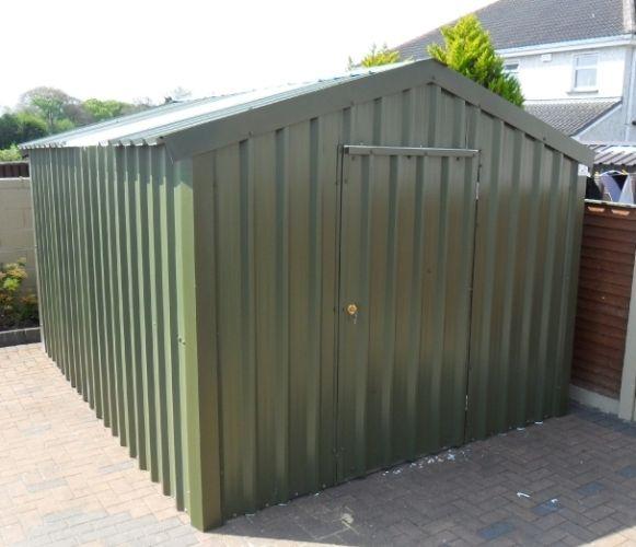 """10' x 9'6""""  pvc coated steel garden shed €1,275 @ www.stsheds.com"""