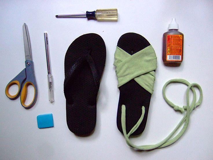 Самодельная обувь