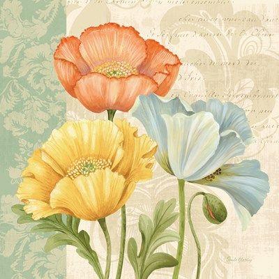 ❤ =^..^= ❤     Pastel Poppies Multi I | Pamela Gladding