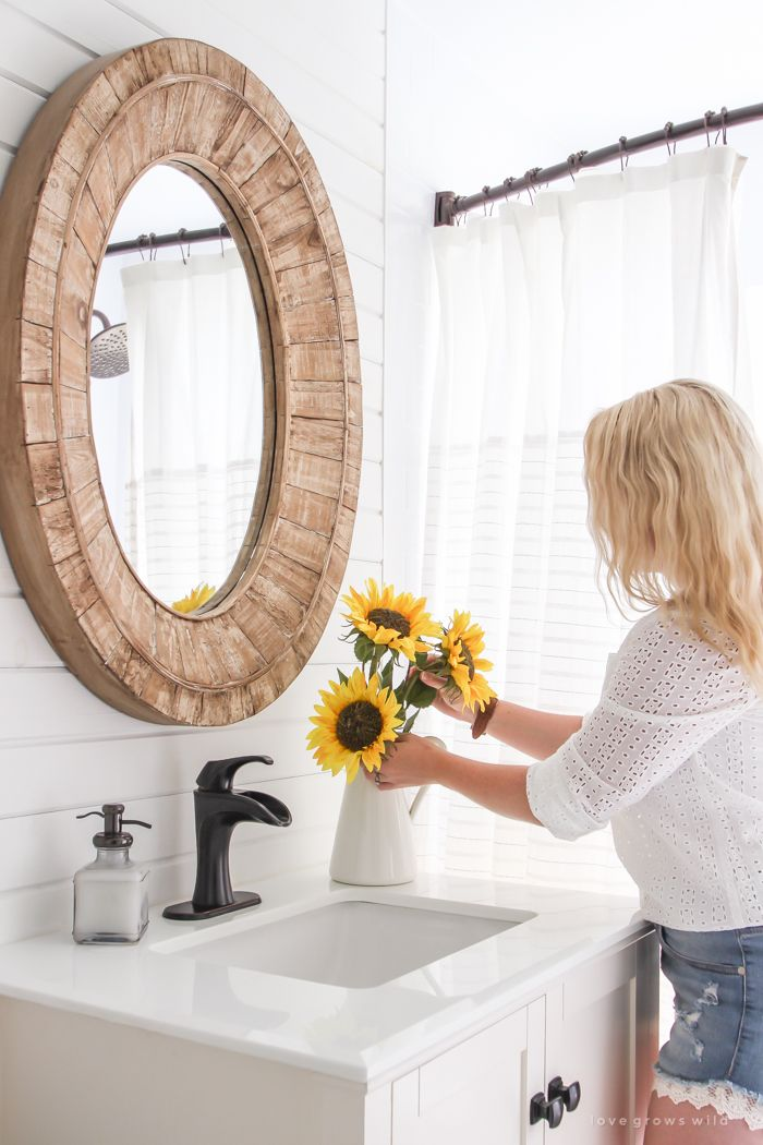 Oversized Oval Mirror From Target (discontinued).