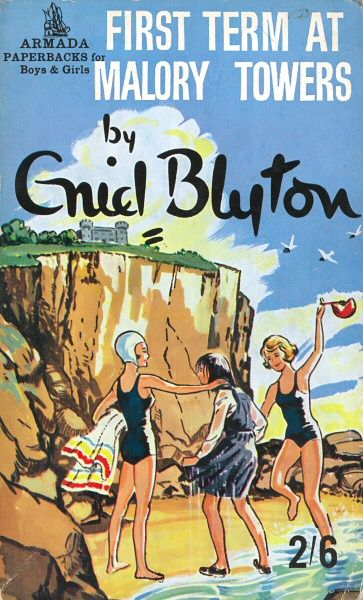 I was in love with those books while growing up! all five of them - malory towers by enid blyton