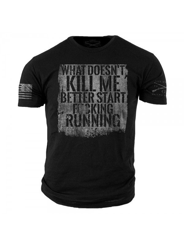 Start Running T-Shirt by Grunt Style at Black Ops Shop