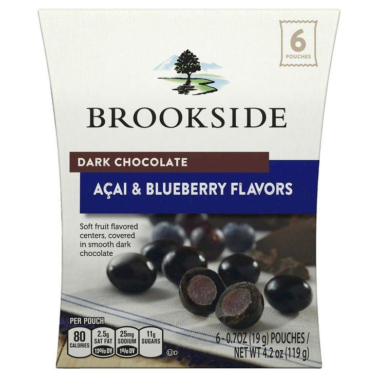 Brookside Dark Chocolate Acai & Blueberry Flavors 4.2oz