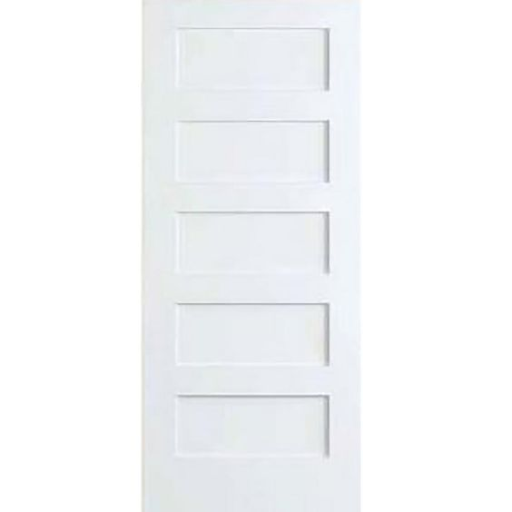 Kimberly Bay 28 In X 80 In White 1 Panel Shaker Solid: 25+ Best Ideas About Solid Core Interior Doors On