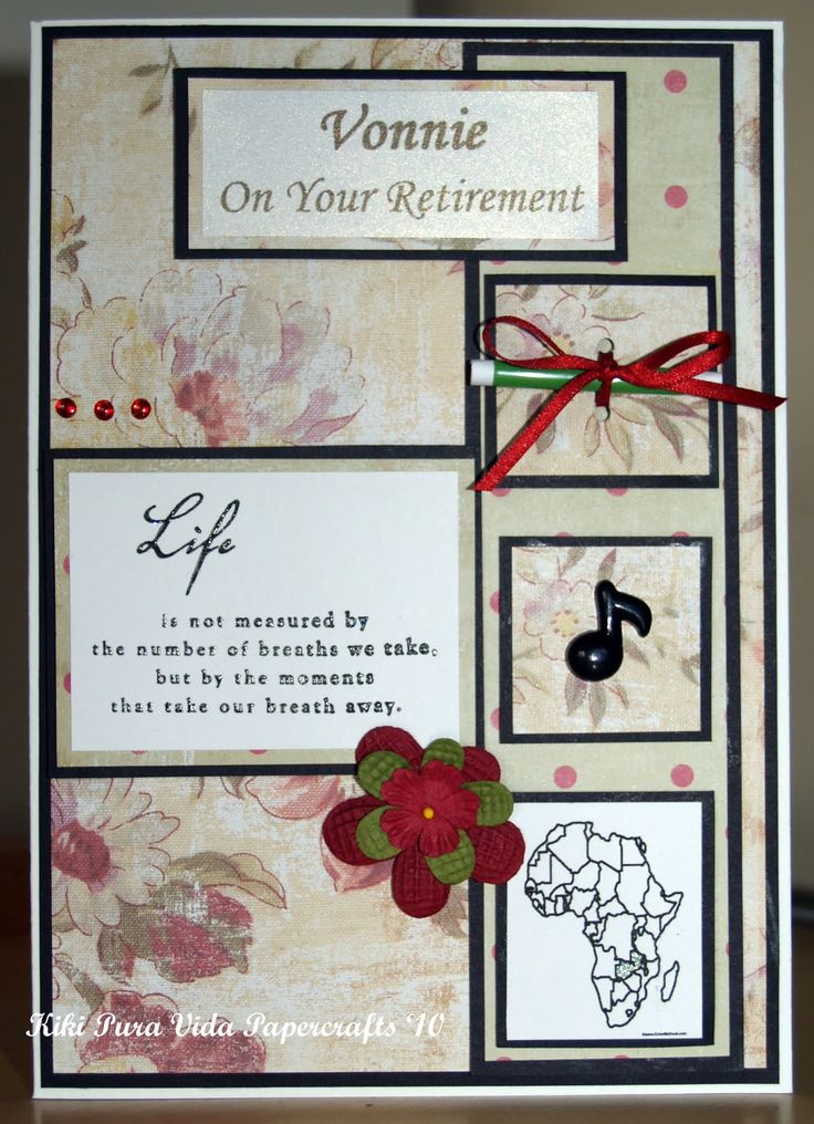 homemade retirement cards  teacher retirement card idea
