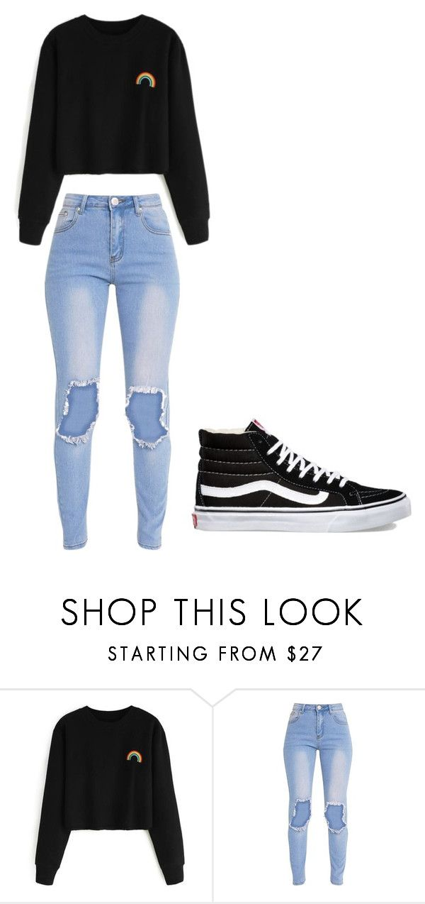 """Untitled #302"" by thenerdyfairy on Polyvore featuring Vans"