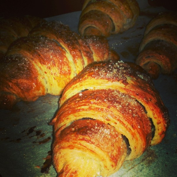 croissant #pastamadre