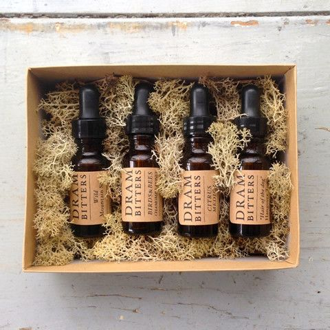 DRAM Cocktail Bitters Collection Gift Set | Cocktail Bitters, Colorado Herbal Extracts, Teas | DRAM Apothecary