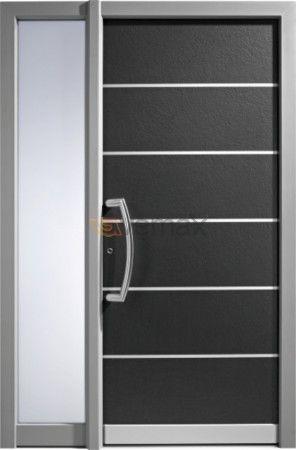 Best 25 puertas metalicas modernas ideas on pinterest for Puertas de aluminio modernas
