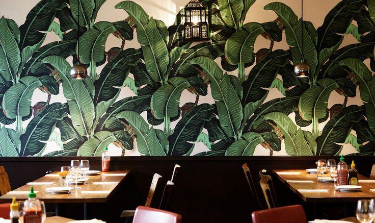 Little red staircase secret bar at Vietnamese Restaurant Shoreditch   Viet Grill Restaurant - London