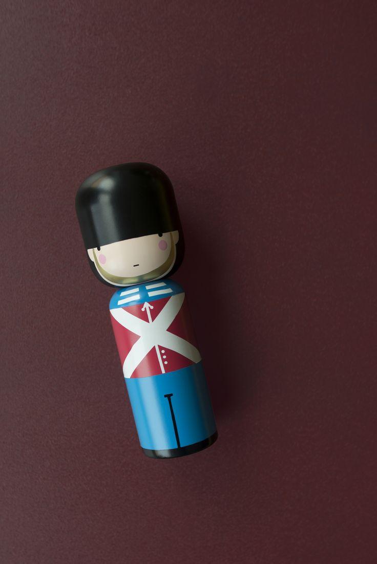 Sketch.inc / Guard Kokeshi Doll / Lucie Kaas