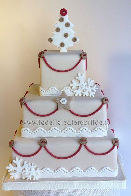 country christmas  Cake by Amerilde