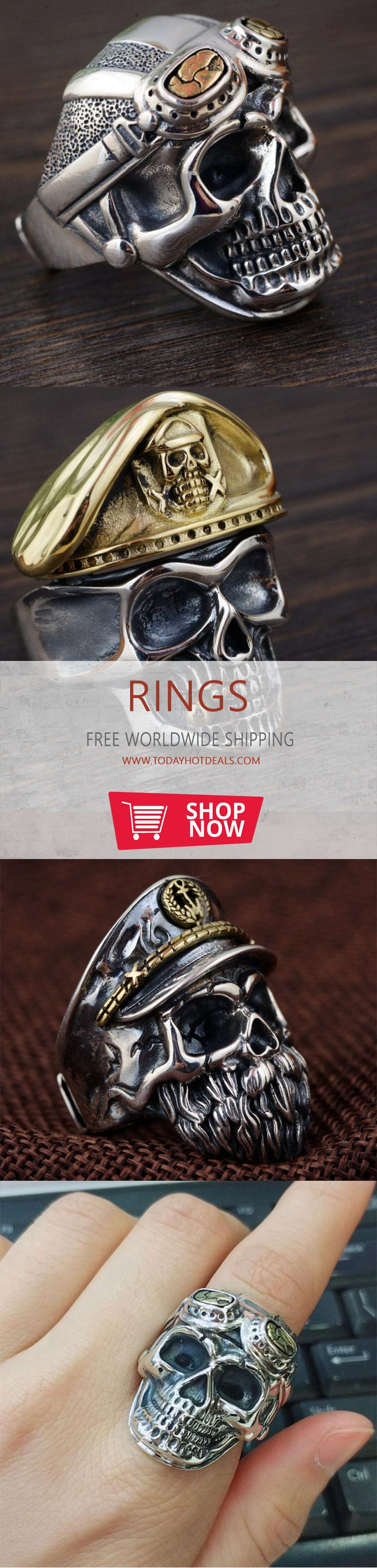 197 Best Smykker Images On Pinterest Male Rings Men And Hoc Store Titanium Cufflinks Set 09 925 Sterling Silver Soldier Anniversary Heavy Skull Ring Condition New Handmade In Perfect Finished Material Highest Quality