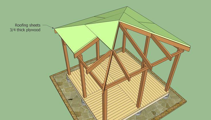 25 best ideas about gazebo plans on pinterest garden for Home hardware gazebo plans