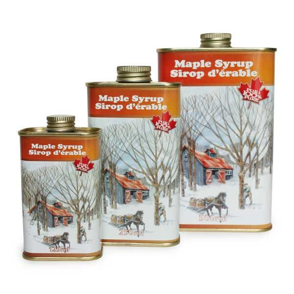 Briggs Maples maple syrup - featured product in BeenThereGifts baskets, an Atlantic Canadian company
