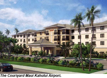 Grand Opening at Courtyard Maui Kahului Airport A brand new 138-room hotel has opened up less than one mile away from the Kahului Airport in Maui, Hawaii.