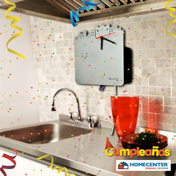Consigue purificador de agua con reloj incorporado #CumpleañosHomecenter