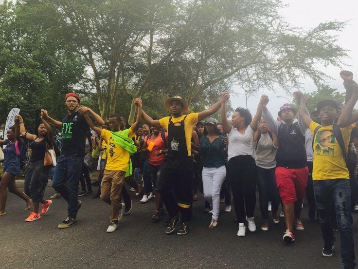 Mcebo and Vuyani Wits fees protest
