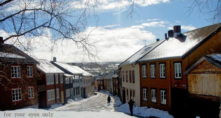 Røros, in Norway