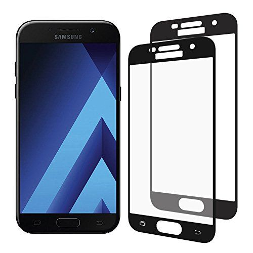 awesome  Samsung Galaxy A5 2017 Cristal Templado, Nazzamo Samsung Galaxy A5 2017 Templado Vidrio Protector de Pantalla     - Negro