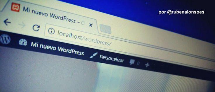 Cómo instalar WordPress en local (en tu PC) http://blgs.co/tkWAwQ