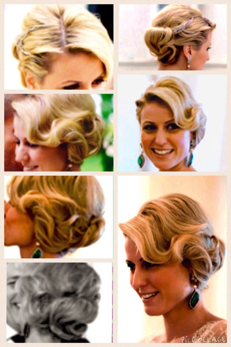 Amazing Art Deco / Great Gatsby era hairstyle / updo.