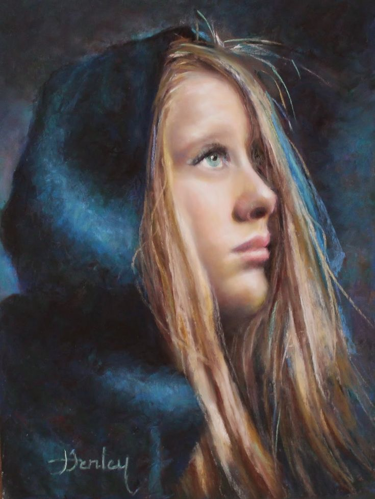 Denise Henley | Portrait painter | Tutt'Art@ | Pittura * Scultura * Poesia…
