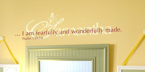 95 best wall words images on Pinterest | For the home, Vinyl wall ...