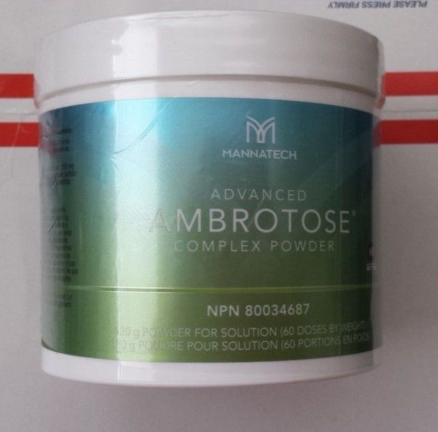 New Generation Mannatech Advanced Ambrotose 120g Powder  #Mannatech