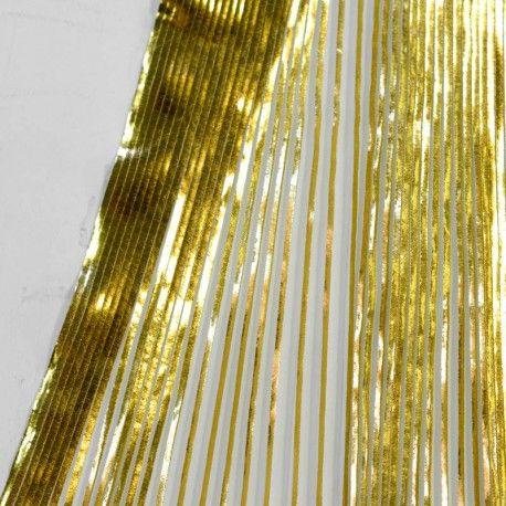 Plissé Limonium Gold
