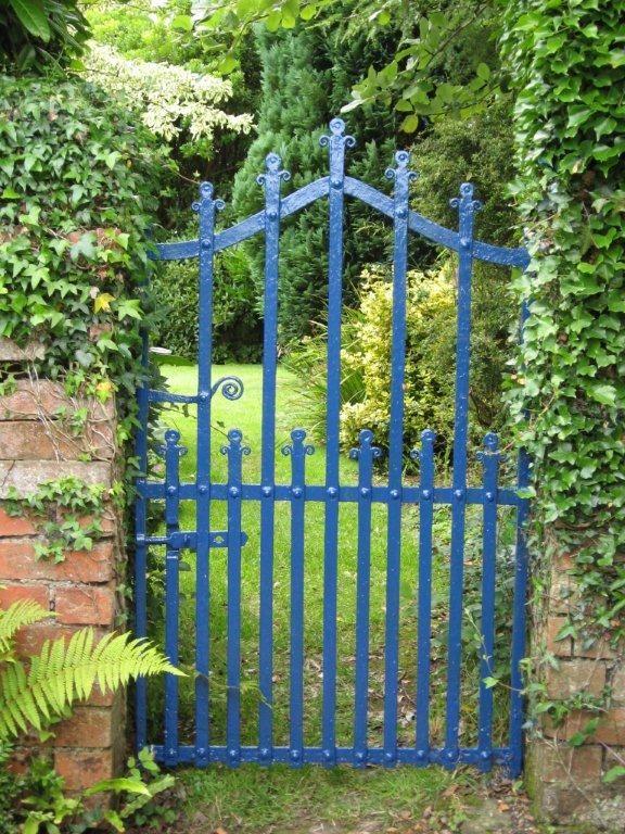 cobalt garden gate