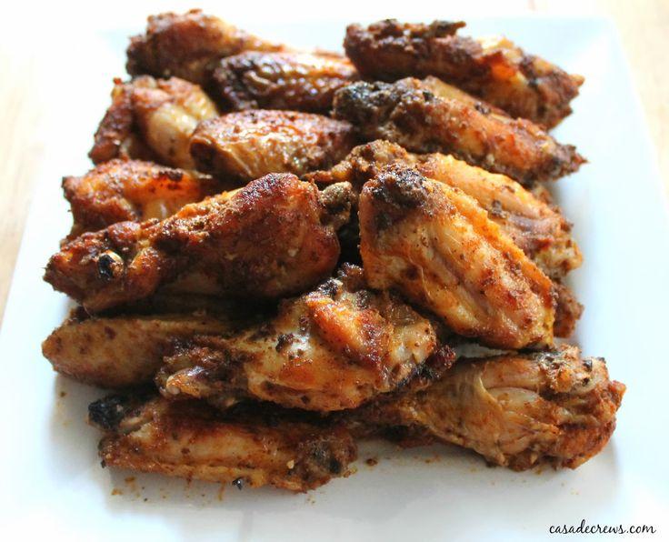 Salt and Vinegar Chicken Wings for #SundaySupper - Casa de Crews