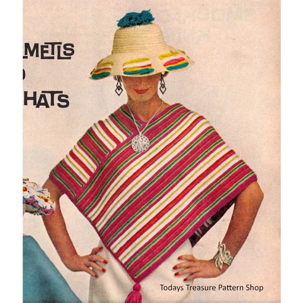 44 best images about Knit Coats Ponchos or Cape Patterns on Pinterest