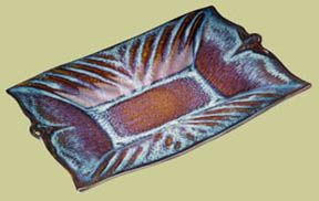 Bill Campbell Pottery, Serving Pieces - Tideline Gallery - Jewelry, Pottery & Art Glass