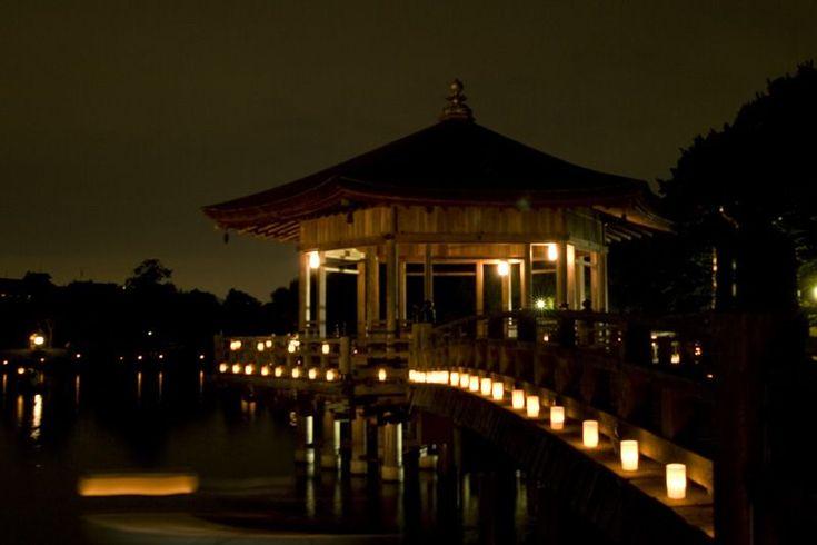 夏の奈良を彩るなら燈花会