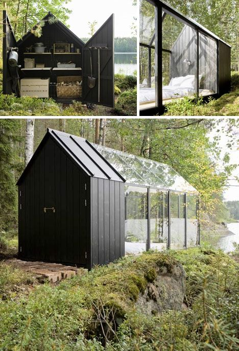 Dream in Greenhouse: Small Scandinavian Summer Island House | #scandistyle #scandinavian