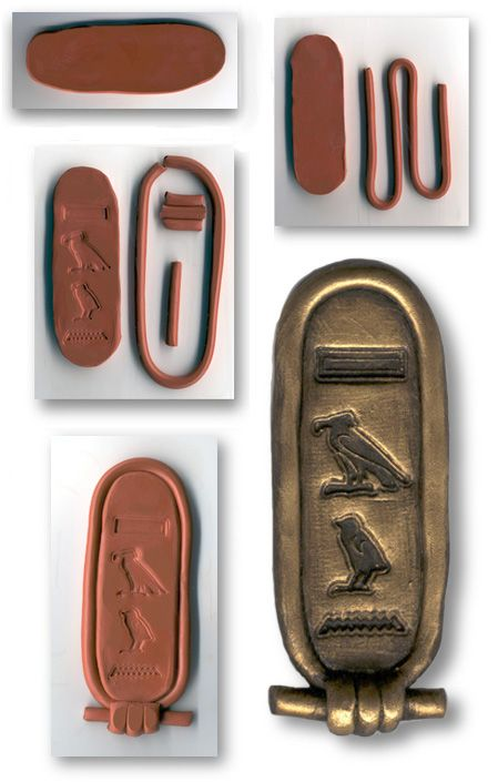 Cartouche---a bunch of Egyptian lesson ideas here  http://boiseartmuseum.org/education/egyptian.php