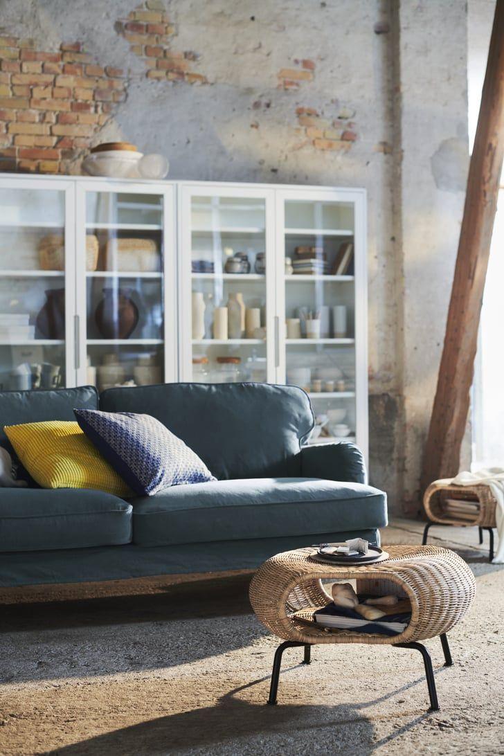 Gamlehult Ottoman Storage footstool, Ikea australia