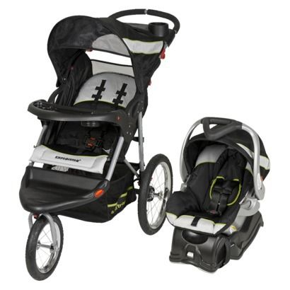 I Want The Combo Of The Jogging Stroller And The Carseat