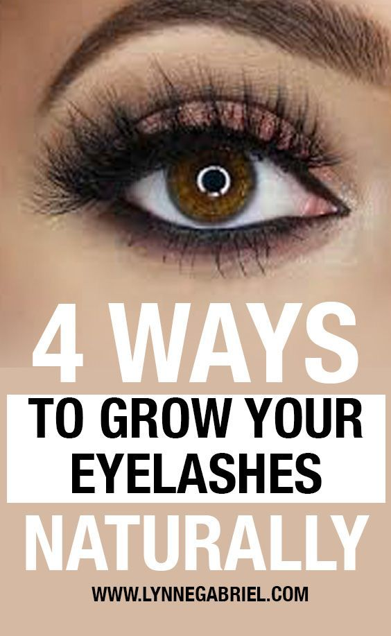 Drop Those Fake Lashes! Here's How To Grow Your Eye Lashes ...