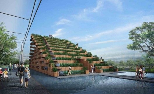 Vietnam's Pavilion at Expo 2015 Competition Entry / H Architects Milano Giorno e Notte - We Love You! http://www.milanogiornoenotte.com