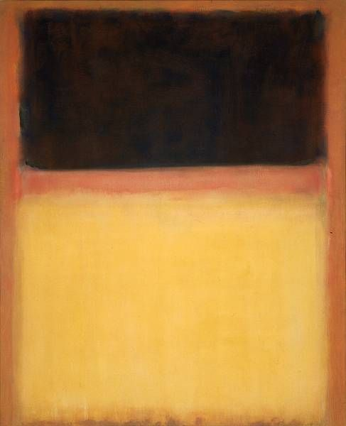 mark rothko(marcus rothkowitz, 1903–70), no. 9 (dark over light earth/violet and yellow in rose), 1954. oil on canvas,212.1 x 172.1 cm. the museum of contemporary art, los angeles, usa http://www.moca.org/museum/pc_artwork_detail.php?acsnum=87.22&keywords=rothko&x=0&y=0&