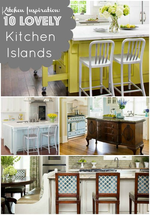 kitchen inspiration 10 lovely kitchen islands: Decor Ideas, Kitchens Ideas, Kitchens Provide, Kitchen Inspiration, 10 Ideas, Kitchen Ideas, Lovely Kitchens, Inspiration 10