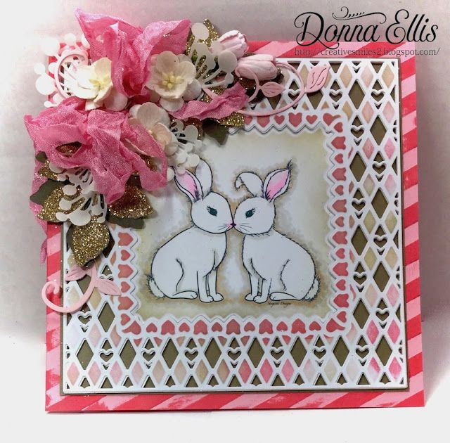 Creative Smiles - my little crafting world: Bunnies, SheepSki Designs, and 2 Crafty Critter Crazies