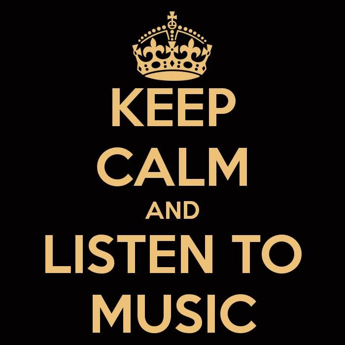 keep calm | Megapost | Keep calm and listen to...