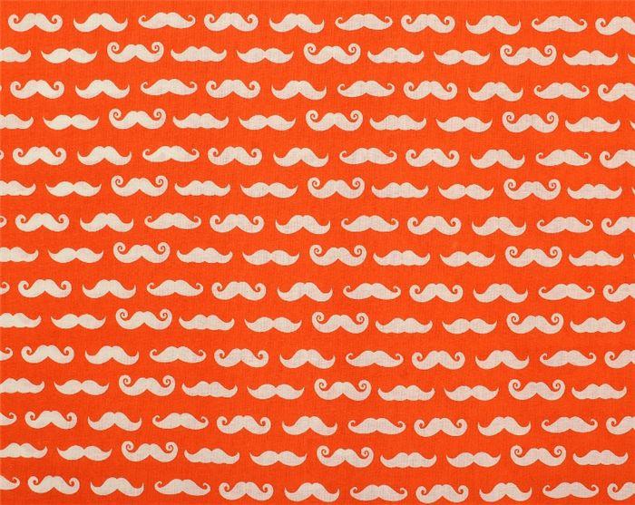 Ohlssons Tyger - - Lapptäckstyger - Bomullstyg Mustascher